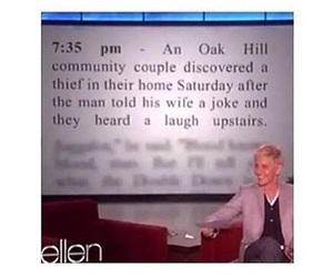 ellen, funny, and thief image