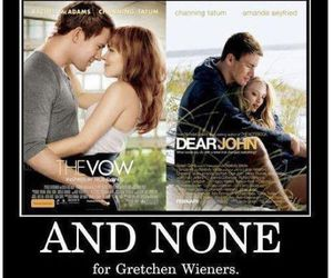 mean girls, channing tatum, and dear john image