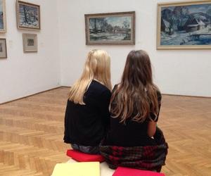 art and girls image