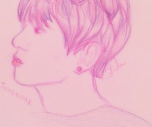 aesthetic, fan art, and kpop image