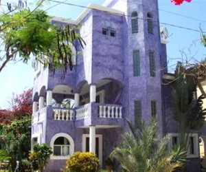 house, purple, and mexico image