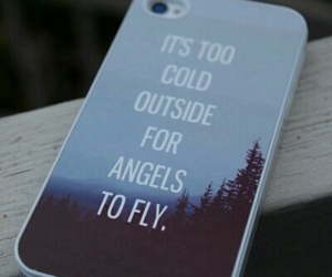 iphone, angel, and case image