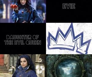 disney, evie, and descendants image
