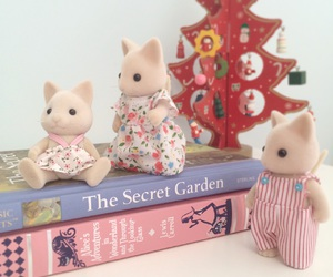 books, cats, and The Secret Garden image
