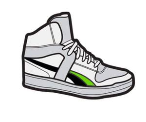 sneaker, style, and swag image