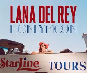lana del rey, honeymoon, and music image