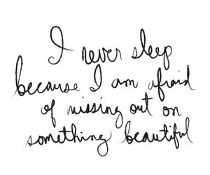 quote, sleep, and text image