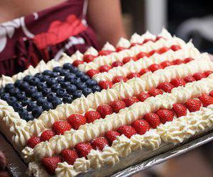 cake, usa, and america image