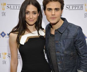 emmy rossum and paul wesley image