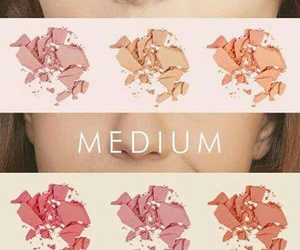 blush, makeup, and skintone image