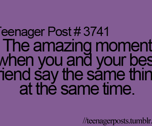 best friends, true, and teenager post image