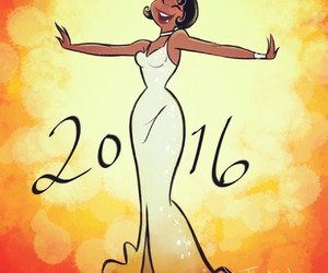 princess and the frog, tiana, and 2016 image