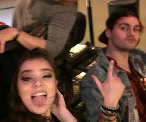5sos, michael clifford, and hailee steinfeld image