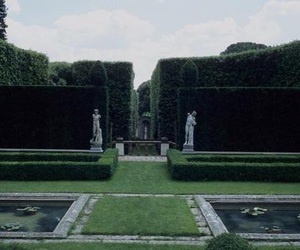 aesthetic, harry potter, and garden image