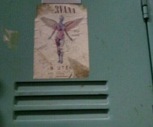 nirvana, grunge, and locker image