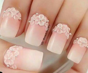 3d, nails, and rose image