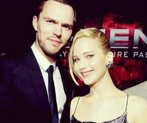 celebrity, nicholas hoult, and couple image