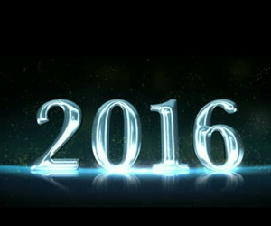 new year, 💙, and 2016 image