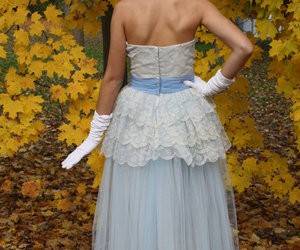 1950's, blue, and dress image
