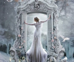 fantasy and white image