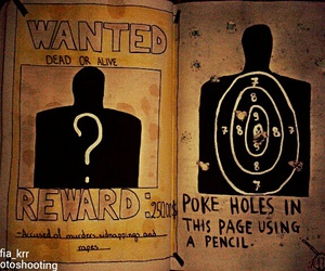 reward, wanted, and wreck this journal image