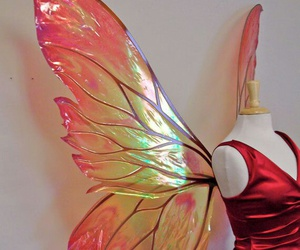 butterfly, fairy, and wings image