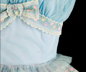 1950's, blue, and etsy image