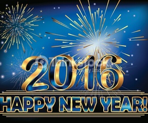 2016, happy new year, and new image