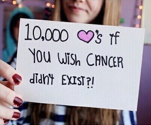 cancer, heart, and wish image