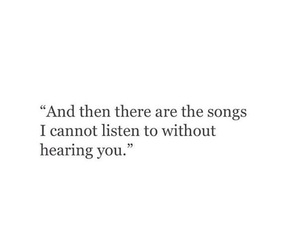 breakup, music, and quotes image