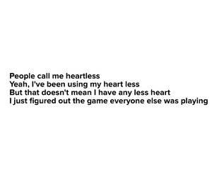 game, heart, and less image