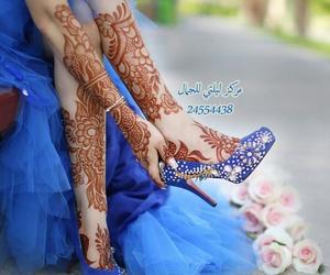arabic, beautiful, and henna designs image