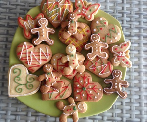 christmas, Cookies, and gingerbread man image