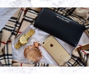 Burberry, girl, and iphone image