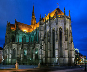 architecture, cathedral, and slovakia image
