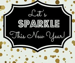 sparkle and new year image