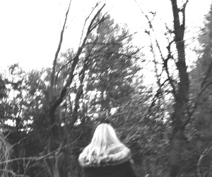 blonde, blurred, and cold image