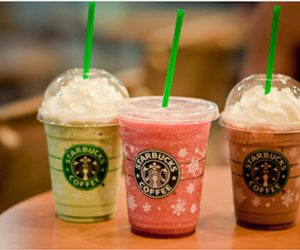 starbucks, green, and pink image