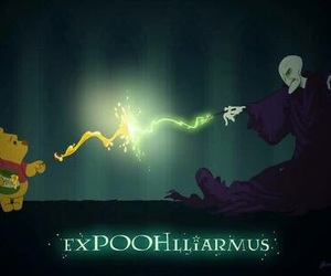 voldemort, harry potter, and winnie the pooh image