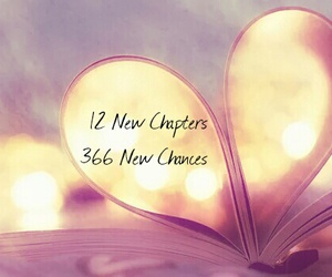 2016, chances, and chapters image