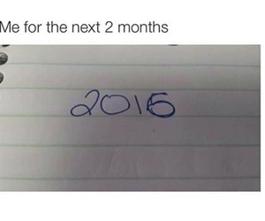 2016, funny, and new year image