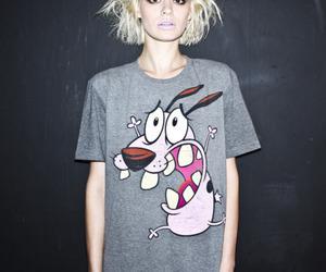 grunge, blonde, and courage the cowardly dog image
