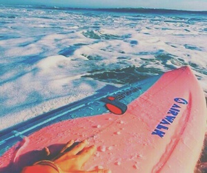 ocean, plage, and summer image