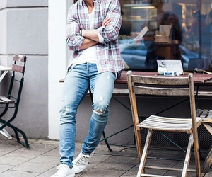 fashion, men, and shirt image