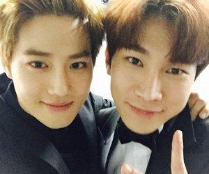exo, k-pop, and btob image