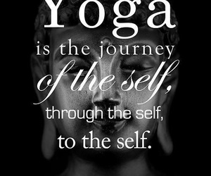 yoga, journey, and quotes image