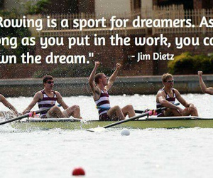 Dream, dreamers, and rowing image