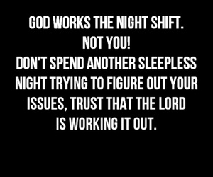 god, night, and quotes image