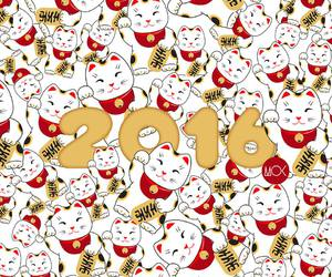 2016, celebrate, and happy new year image