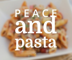 easel, wehearit, and peace and pasta image